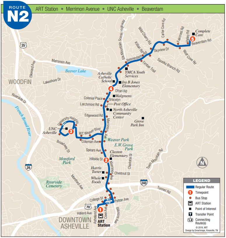 ART N2 Route